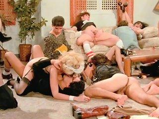 Let's Relish A Very Big Retro Porn Orgy Sex Video