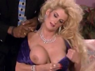 Well Known Male Pornstar Peter North Fucks Incredible Busty Blonde