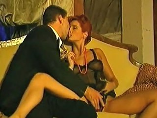 Stunning Busty Redhead Looks So Attractive For Bisexual Brunette