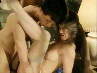 Classic Fuck Scene With Two Guys For Her