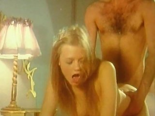 Exciting Sexy Retro Blonde Is Licking With Lesbian Girlfriend Before Fucking With Boyfriend