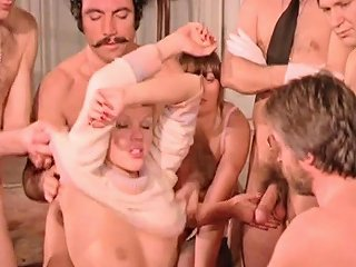 Vintage Sex Orgy French